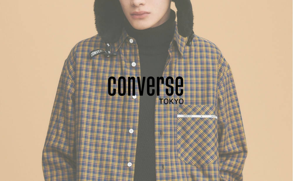 CONVERSE TOKYO 2019 A/W COLECTION