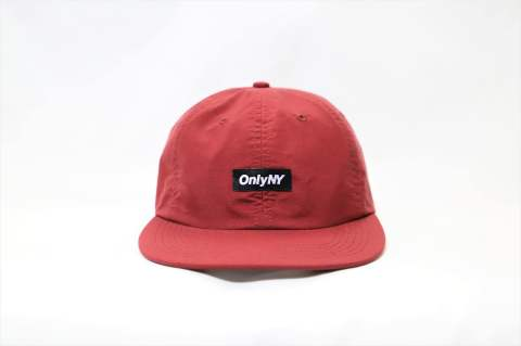 Tech Polo Hat Red | ブロックロゴキャップ