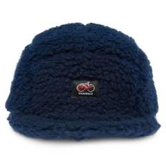 FLEECE BOA SHORT VISOR 5PANEL CAP NAVY | フリースボア5Pキャップ