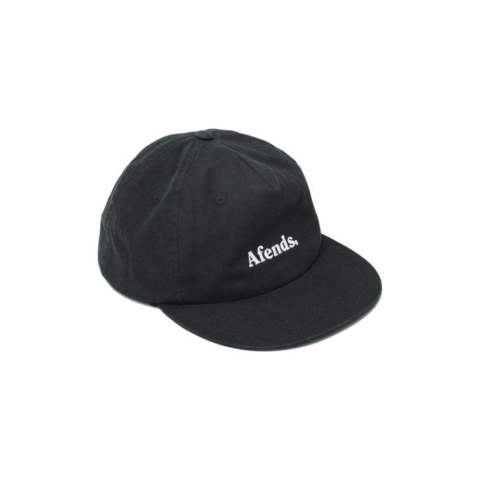 STOCK UNSTRUCTURED CAP BLACK | ロゴキャップ