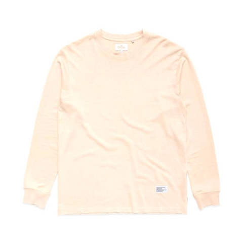 STANDARD ISSUE HEMP RETRO FIT LONG SLEEVE TEE CEMENT | ロングスリーブヘンプカットソー