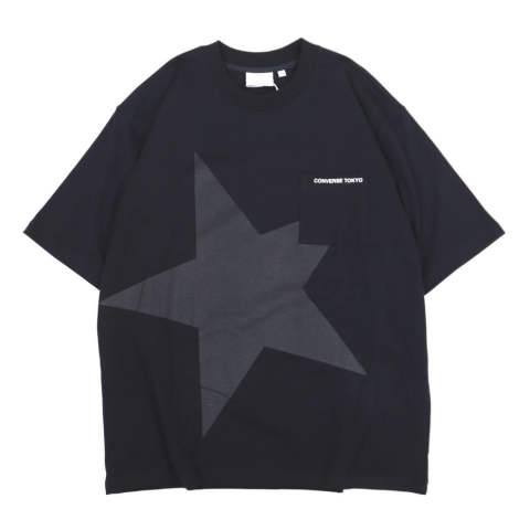 BIG STAR POCKET TEE BLACK | プリントTシャツ