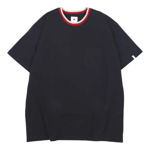 DAYTRIP H/S CREW-NECK LIB TEE BLACK | 半袖Tシャツ