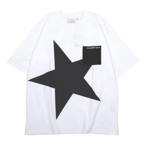 BIG STAR POCKET TEE WHITE | プリントTシャツ
