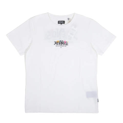 BRIGHT SIDE STANDARD FIT TEE WHITE | 半袖Tシャツ