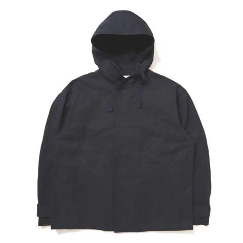 OVERSIZE HOODED JACKET BLACK | ブルゾン