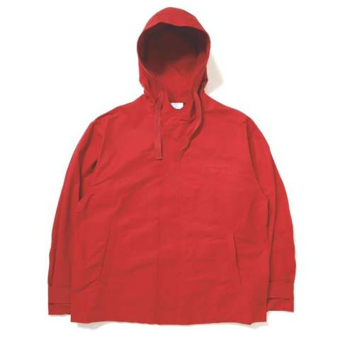 OVERSIZE HOODED JACKET RED | ブルゾン