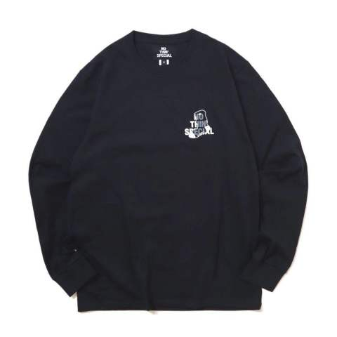 【NOTHIN'SPECIAL x WHIMSY】 LOGO LONG SLEEVE BLACK | 長袖Tシャツ