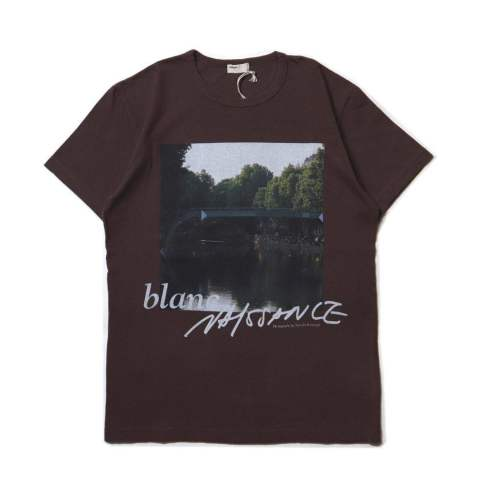PHOTO TEE (FRONT)  BROWN | フォトTシャツ
