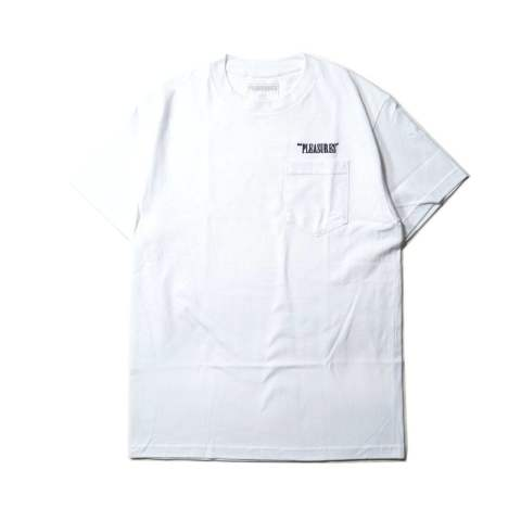 BALANCE EMBROIDERED POCKET SHIRT WHITE | 半袖Tシャツ