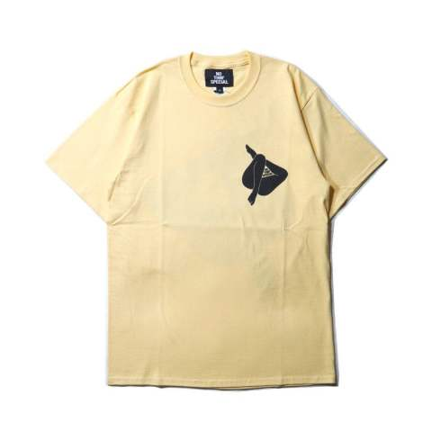 INVISIBLE TEE YELLOW | 半袖Tシャツ