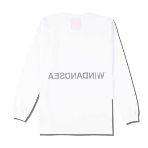 WDS REFLECTION L/S T-SHIRTS WHITE | 長袖Tシャツ